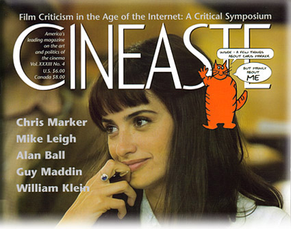 Cineaste Magazine - Guillaume