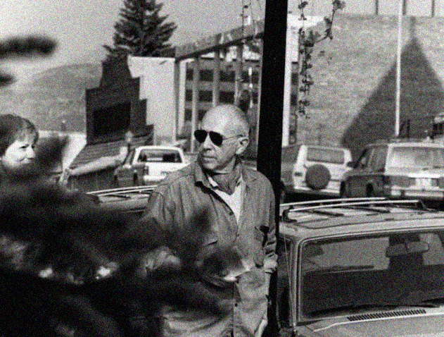 Telluride Chris Marker at invitation of Tom Luddy