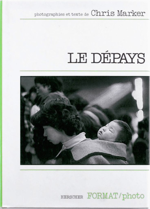 Le Dépays by Chris Marker (cover)