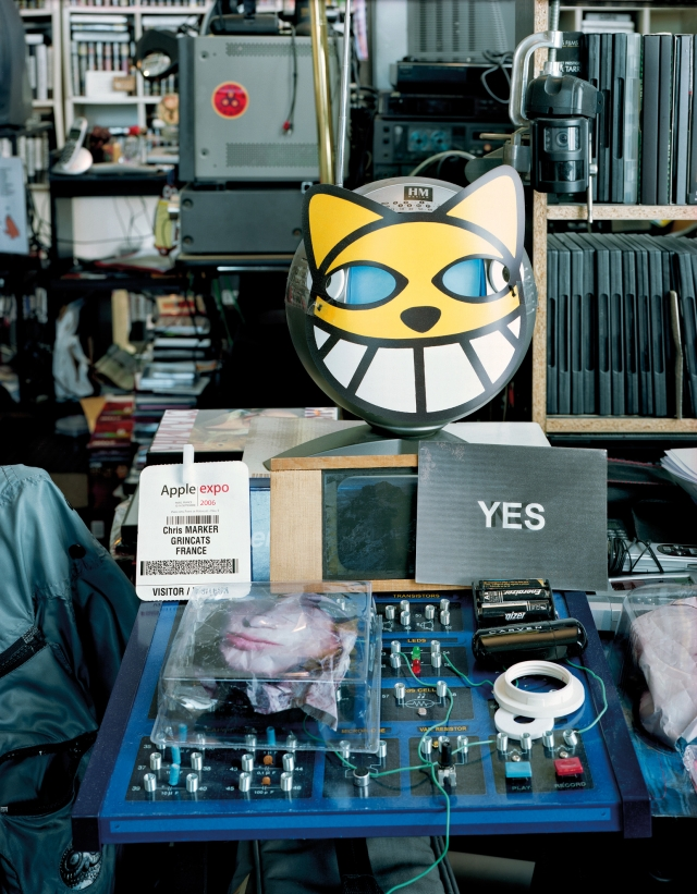 Ben Lerner, Chris Marker studio