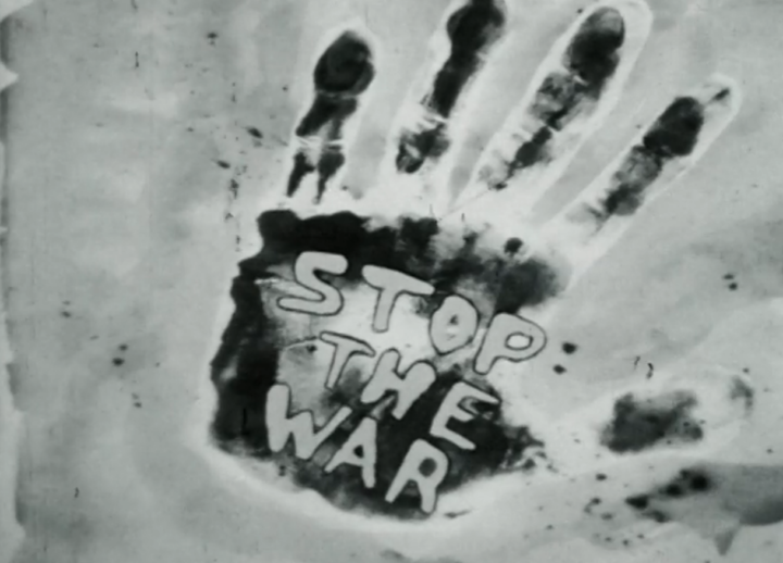 sixth face stop the war hand