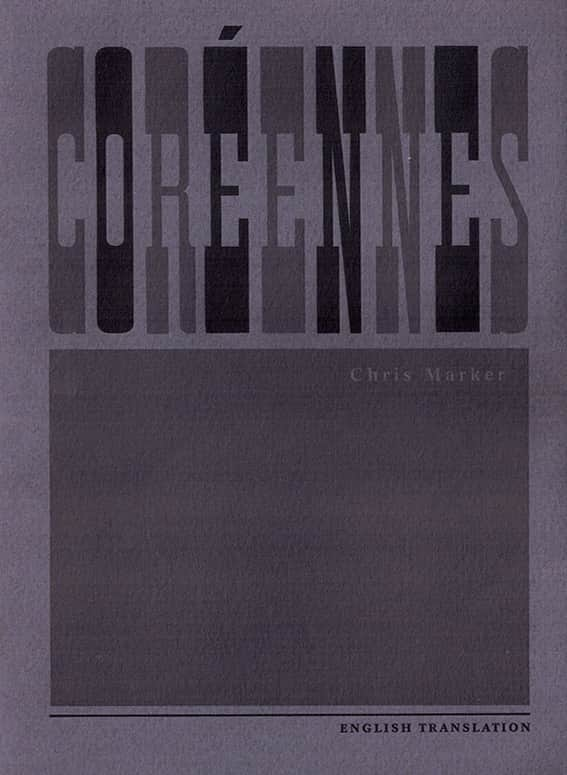 Coreennes by Chris Marker English version