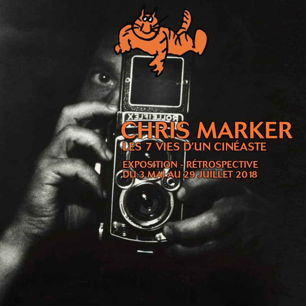Les Sept Vies d'un Cineaste Chris Marker Exhibition Cinematheque francaise