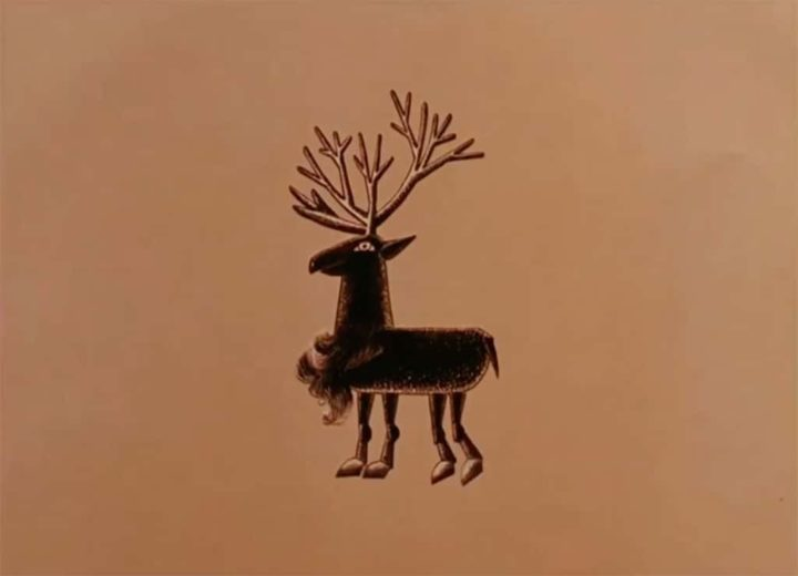 Chris Marker Raindeer animation stop motion