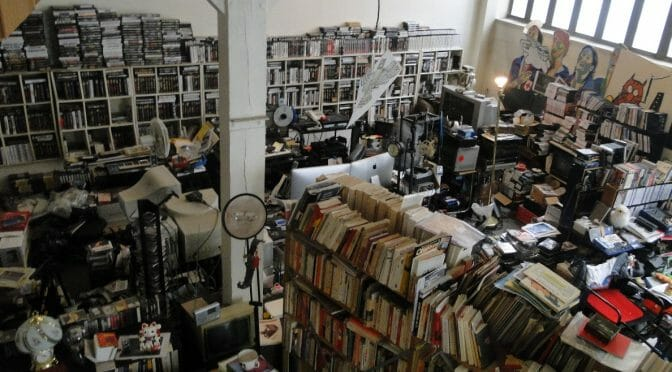 Chris Marker studio library atelier