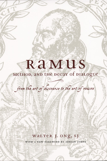 Walter J Ong, Ramus Method and the Decay of Dialogue