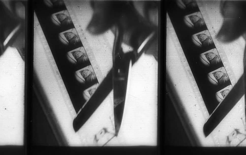 Dziga Vertov, cutting film sequence in Man with the Movie Camera 1929