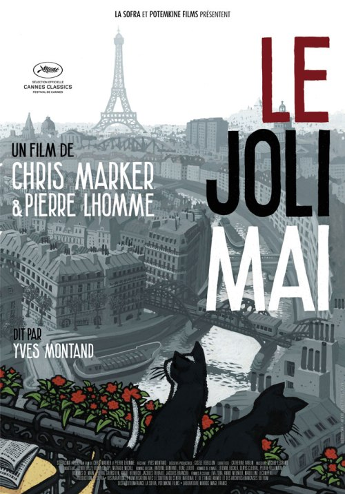 poster of le joli mai a film by chris marker and pierre lhomme