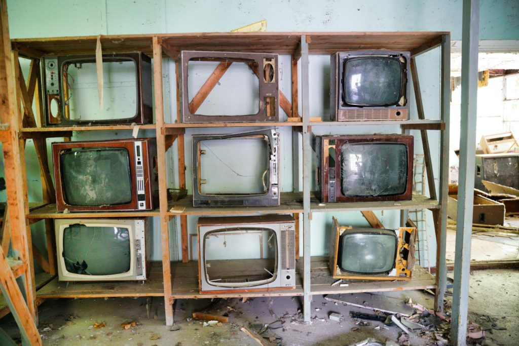 Dead televisions: Photo by Michal Lis on Unsplash